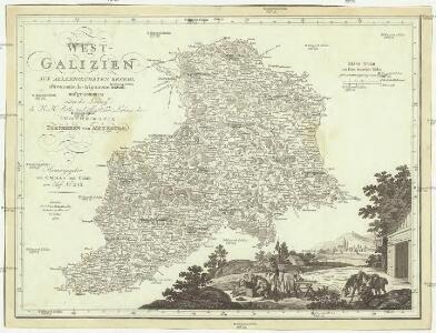 West Galizien auf allerhoechsten Befehl astronomisch- trigonometrisch