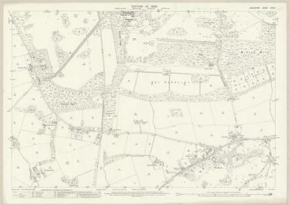 Lancashire CVII.6 (includes: Huyton With Roby; Knowsley; Prescot) - 25 Inch Map