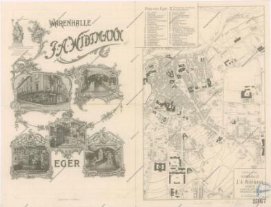 Plan von Eger