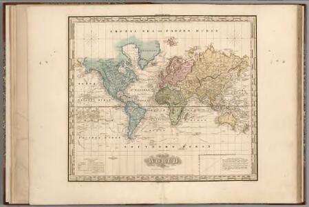 World on Mercators Projection.