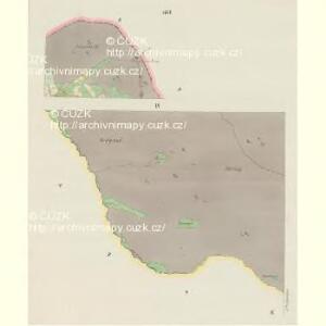 Giesshübel (Wolessnice) - c5448-1-007 - Kaiserpflichtexemplar der Landkarten des stabilen Katasters