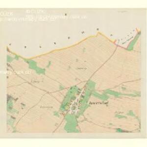 Jastersdorf (Gastřab) - m1076-1-002 - Kaiserpflichtexemplar der Landkarten des stabilen Katasters
