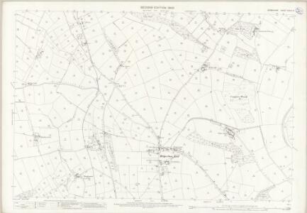 Derbyshire XXXIX.12 (includes: Alderwasley; Belper; Milford; Shottle and Postern) - 25 Inch Map