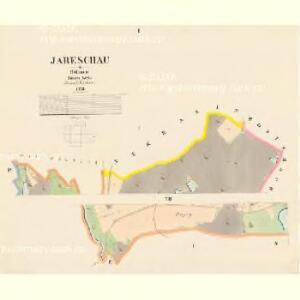 Jareschau - c2778-1-001 - Kaiserpflichtexemplar der Landkarten des stabilen Katasters
