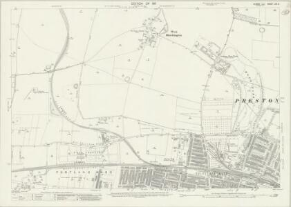 Sussex LXV.8 (includes: Aldrington; Hangleton; Hove; West Blatchington) - 25 Inch Map