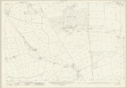 Durham XLII.14 (includes: Etherley; Heighington; Shildon) - 25 Inch Map