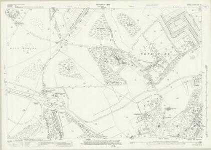 Surrey XIX.10 (includes: Banstead; Epsom) - 25 Inch Map