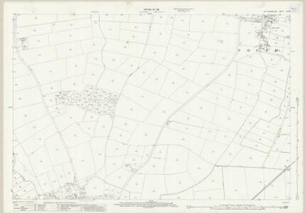 Nottinghamshire XXVI.9 (includes: Besthorpe; North Collingham; South Scarle) - 25 Inch Map