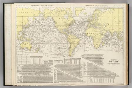 Steamship Routes of The World.