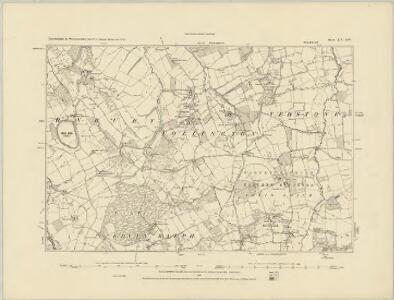 Herefordshire XIII.SE - OS Six-Inch Map