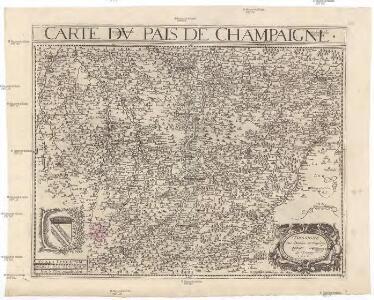 Carte dv pais de Champagne