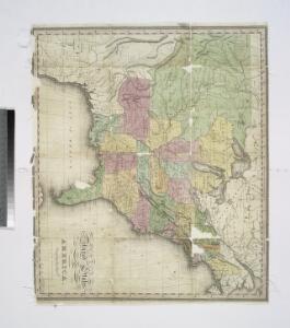 United States of America / engrav'd by J. Warr Jr., No. 110 Walnut St. Philada.