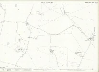 Berkshire XXVII.9 (includes: Beedon; Chieveley; Hampstead Norris; Peasemore) - 25 Inch Map