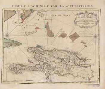 Carte de l'Isle de Saint Domingue : dressée en 1722 pour l'usage du Roy sur les memoires de Mr. Frezier, ingenieur de S.M. et autres