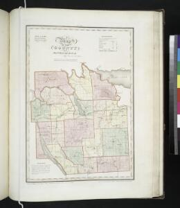 Map of the county of Onondaga / by David H. Burr; engd. by Rawdon, Clark & Co., Albany, & Rawdon, Wright & Co., New York.; An atlas of the state of New York: containing a map of the state and of the several counties / by David H. Burr.