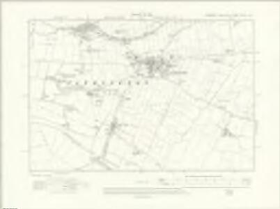 Yorkshire CCLVI.NE - OS Six-Inch Map