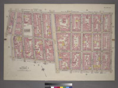 Plate 19, Part of Section 2: [Bounded by E. Houston Street, Orchard Street, Delancey Street, Bowery Street, Spring Street, Elm Street, Prince Street and Crosby Street.]