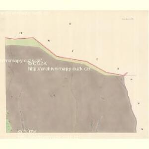 Unter Beczwa (Dolni Beczwa) - m0477-1-004 - Kaiserpflichtexemplar der Landkarten des stabilen Katasters