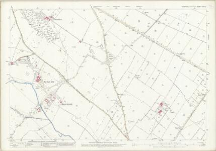Yorkshire XXV.13 (includes: Gilling; Melsonby) - 25 Inch Map
