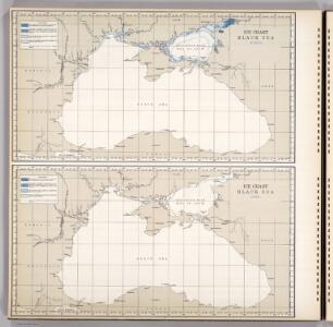 Ice Chart Black Sea, March, April.