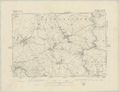 Staffordshire V.NW - OS Six-Inch Map