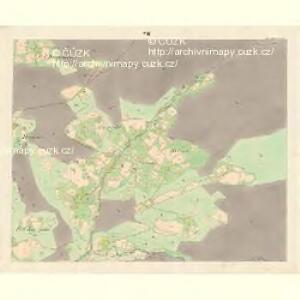 Ober Beczwa (Horny Bečwa) - m0763-1-006 - Kaiserpflichtexemplar der Landkarten des stabilen Katasters