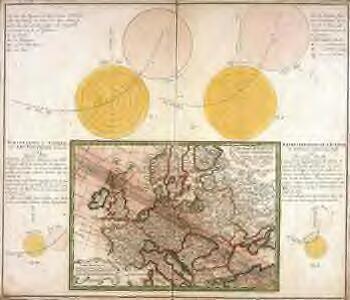 Vorstellvng der Sonnen- oder Erd Finsternis den 25 Jul. 1748