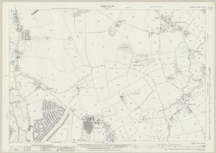 Lancashire CIX.9 (includes: Croft; Poulton With Fearnhead; Warrington; Winwick) - 25 Inch Map