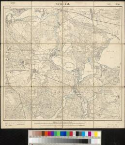 Meßtischblatt 2045 : Friedersdorf, 1906
