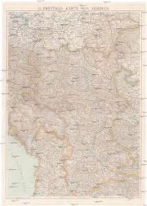 G. Freytags Karte von Serbien