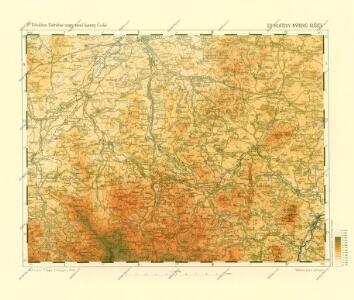Podrobné mapy zemí Koruny české v měřítku 1:75.000 a mapa vzdáleností všech míst při silnici ležících - Klatovy - Nýrsko - Sušice. Průvodce statisticko-historický po všech místech na těchto mapách uvedených a rejstřík věcný názvů hor, potoků, řek, rybníků atd. Sešit 32. List 23,