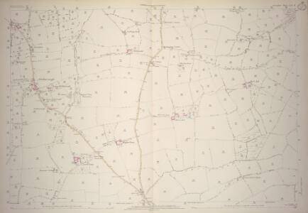 Devon LIV.8 (includes: Morchard Bishop; Sandford) - 25 Inch Map