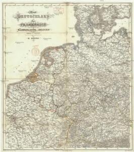 West Deutschland und Ost Frankreich, Niederlande und Belgien