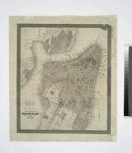 Map of the city of New-York / drawn by D.H. Burr, for