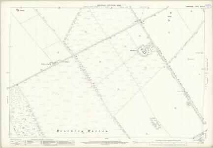 Hampshire and Isle of Wight XXXII.11 (includes: Barton Stacey; Chilbolton; Wonston) - 25 Inch Map