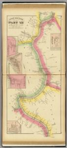 Upper Ohio River and Valley part XII, 193 to 214 miles below Pittsburgh ... (with) Reedville, O., Murraysville, W.V., Hockingport, O., Belleville, W. Va.,  Portland, O.