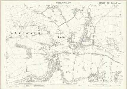Pembrokeshire III.14 (includes: Cilgerran; Llangoedmor; Maenordeifi) - 25 Inch Map