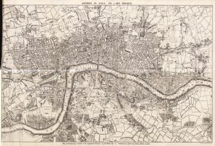 Maps of Old London-J. Rocque