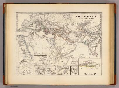 Orbis terrarum regni Assyrii tempore.