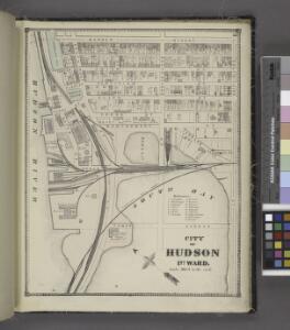 City of Hudson 1st Ward. [Township]