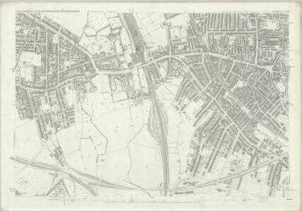 London (First Editions c1850s) LXVIII (includes: Deptford St Paul) - 25 Inch Map