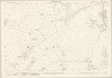 Yorkshire CXXXVI.13 (includes: Dacre) - 25 Inch Map