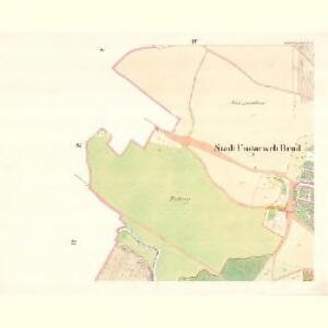 Ungarisch Brod (Uherski Brod) - m3197-1-004 - Kaiserpflichtexemplar der Landkarten des stabilen Katasters