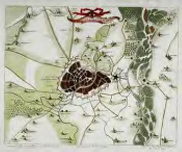 Plan de Strasbourg et ses environs