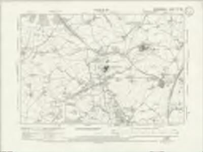 Warwickshire XIXa.SW - OS Six-Inch Map
