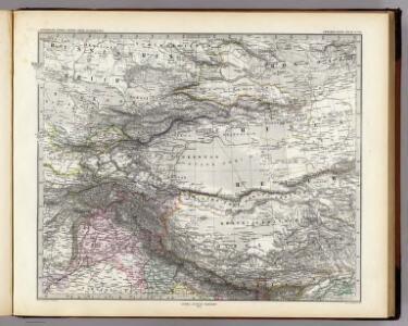 Indien & Inner-Asien, Nordliches Blatt.