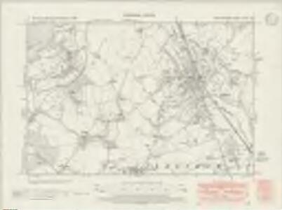 Hertfordshire XXXIX.SE - OS Six-Inch Map