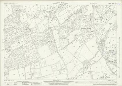 Surrey XLII.7 (includes: Godstone; Horne) - 25 Inch Map