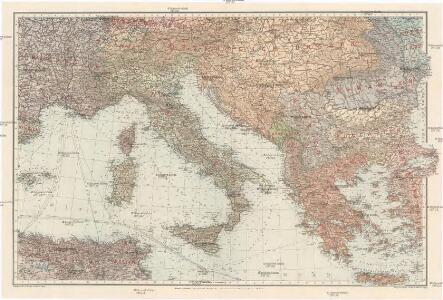 [Italien und die Balkanstaaten]