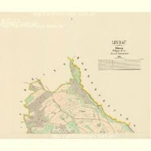 Lindau - c4110-2-001 - Kaiserpflichtexemplar der Landkarten des stabilen Katasters